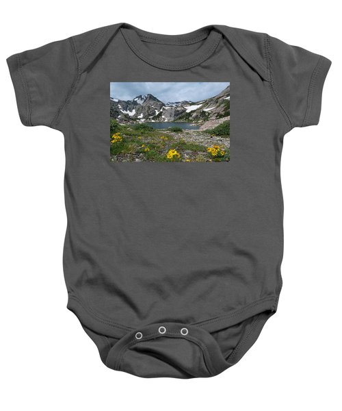Bluebird Lake - Colorado Baby Onesie