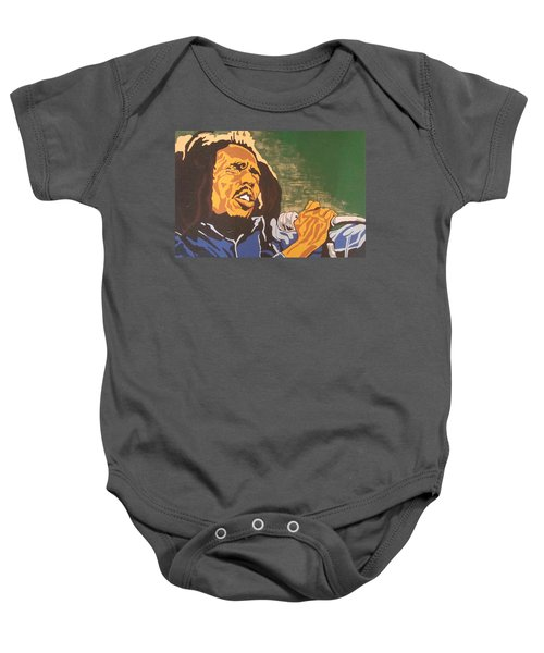 Bob Marley Baby Onesie