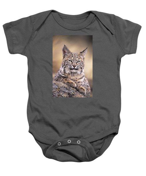 Bobcat Cub Portrait Montana Wildlife Baby Onesie