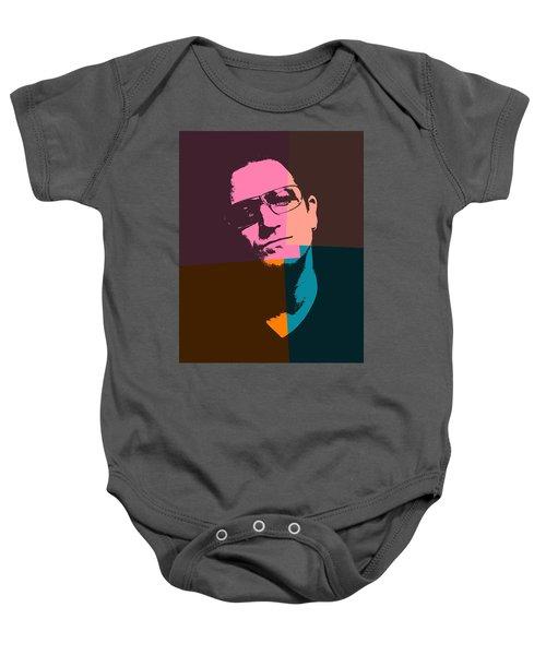 Bono Pop Art Baby Onesie