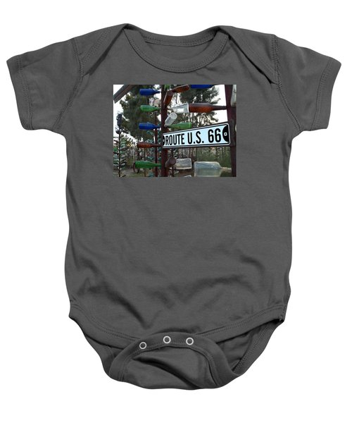 Bottle Trees Route 66 Baby Onesie