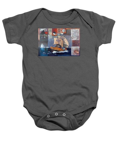 Brendan Voyage Baby Onesie