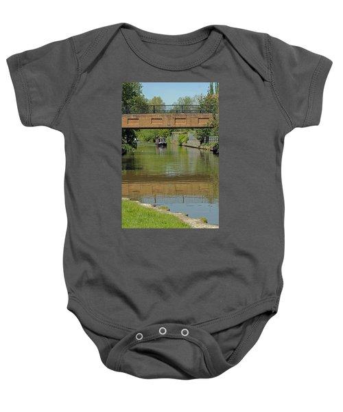 Bridge 238b Oxford Canal Baby Onesie