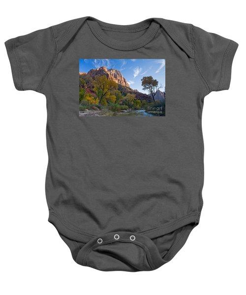 Bridge Mountain Baby Onesie