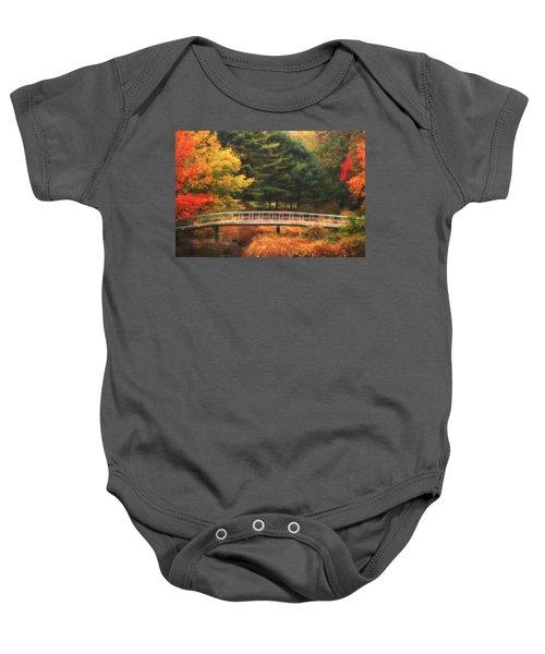 Bridge To Autumn Baby Onesie