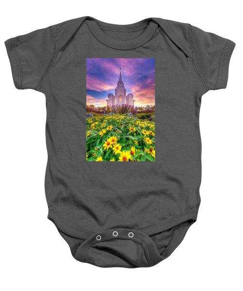 Brigham City Temple Baby Onesie