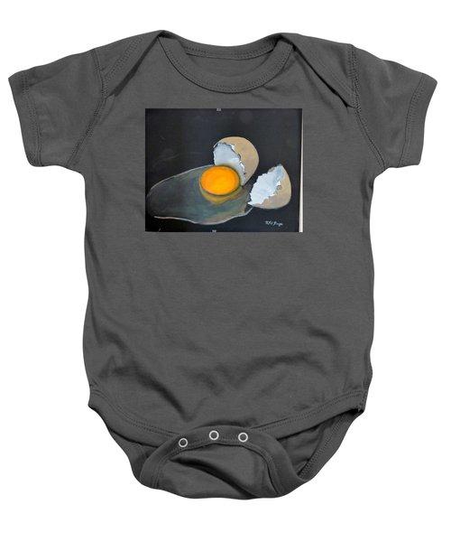 Broken Egg Baby Onesie