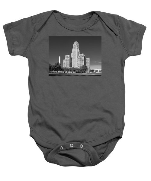 Buffalo City Hall 0519b Baby Onesie
