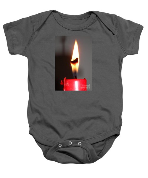 Butterfly Flame Baby Onesie