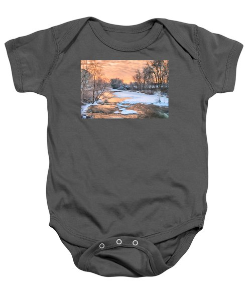 By The Old Mill Baby Onesie