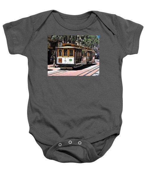 Cable Car - San Francisco Baby Onesie