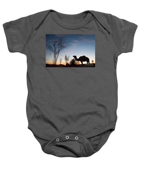 Camel Sunset Baby Onesie