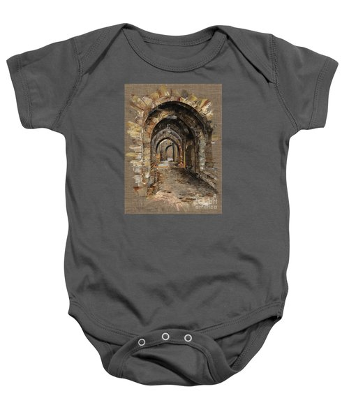 Camelot -  The Way To Ancient Times - Elena Yakubovich Baby Onesie