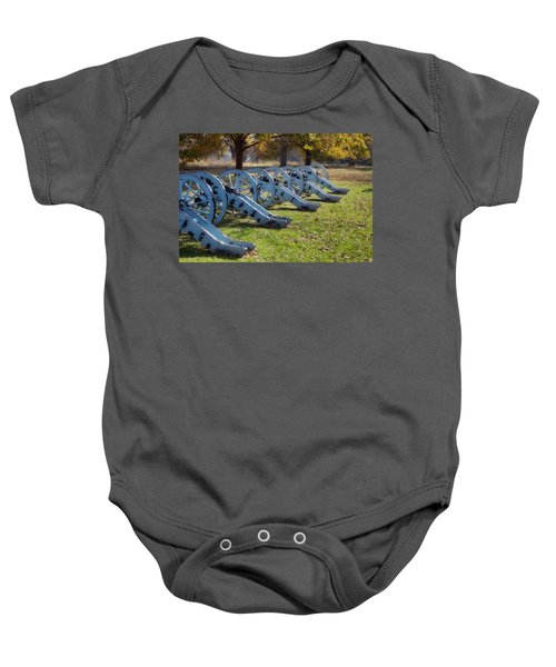 Canon Formation Baby Onesie