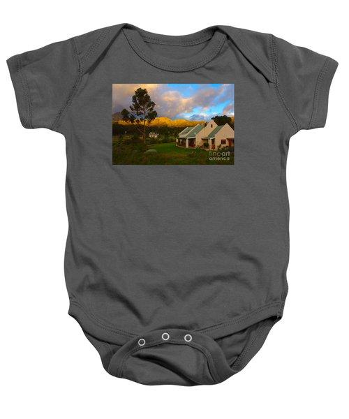 Cape Sunset Baby Onesie