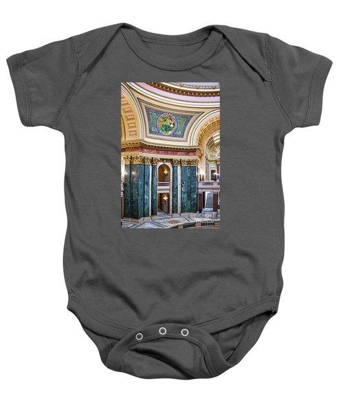 Capitol - Madison - Wisconsin Baby Onesie