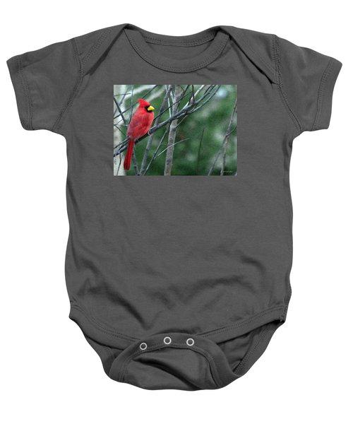 Cardinal West Baby Onesie