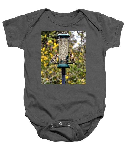 Carduelis Carduelis 'goldfinch' Baby Onesie