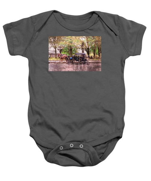 Carriage Rides Series 03 Baby Onesie
