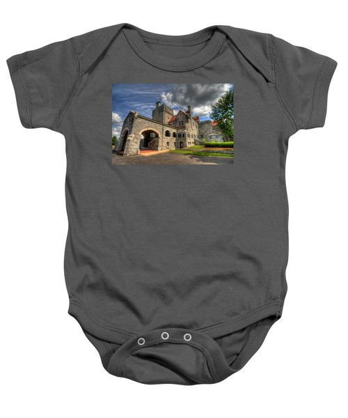 Castle Administration Building Baby Onesie