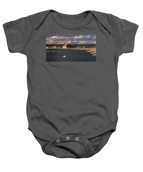 Castle Rock Sunset Baby Onesie