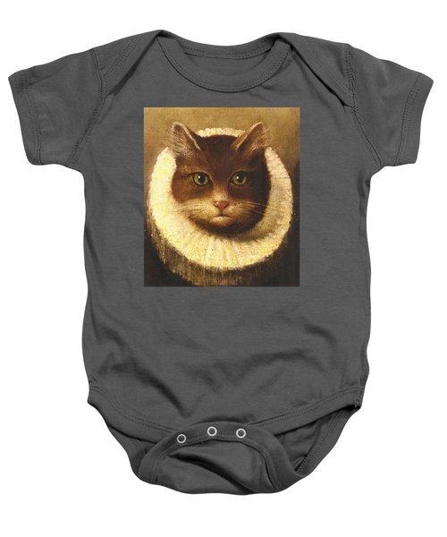 Cat In A Ruff Baby Onesie