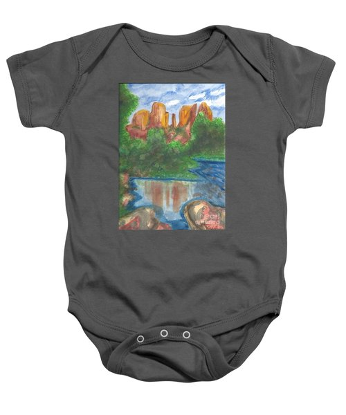 Cathedral Rock Baby Onesie