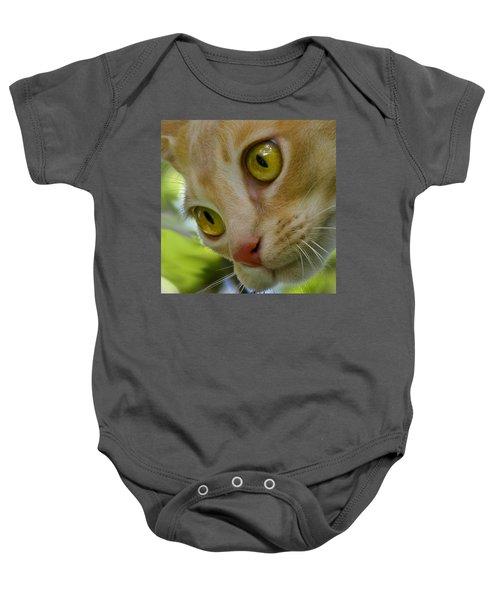 Cats Eyes Baby Onesie