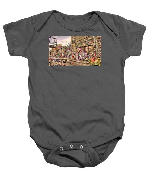 Caution Wet Paint Baby Onesie