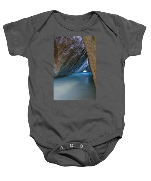 Cave At The Baths Baby Onesie
