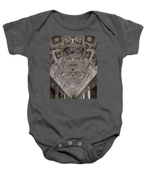 Ceiling Of Hall Of Maps Baby Onesie