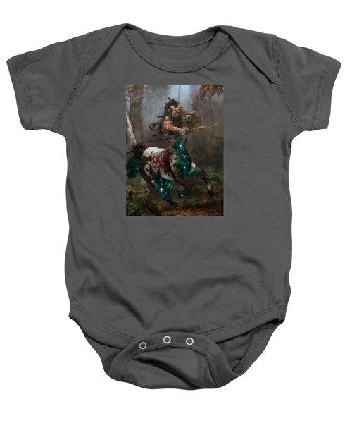 Centaur Token Baby Onesie by Ryan Barger