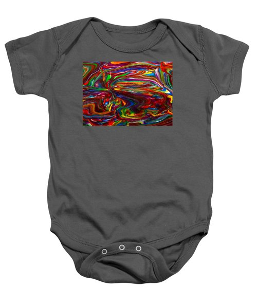 Chaotic Flow Baby Onesie