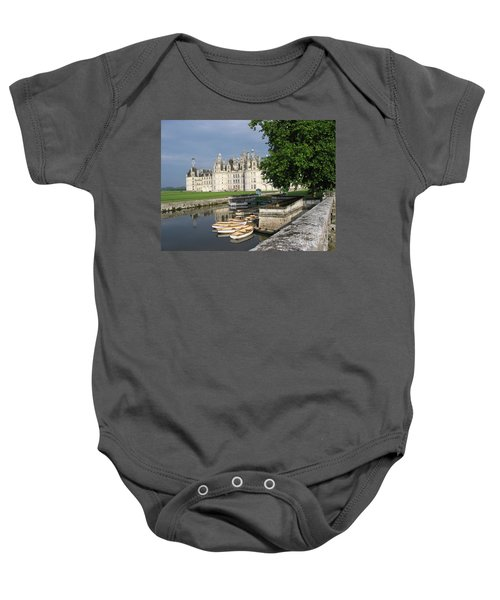Chateau Chambord Boating Baby Onesie