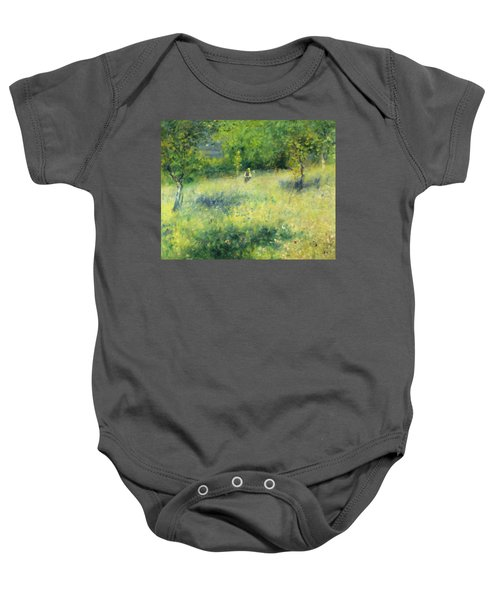 Chatou After Renoir Baby Onesie