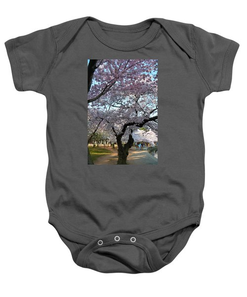 Cherry Blossoms 2013 - 044 Baby Onesie