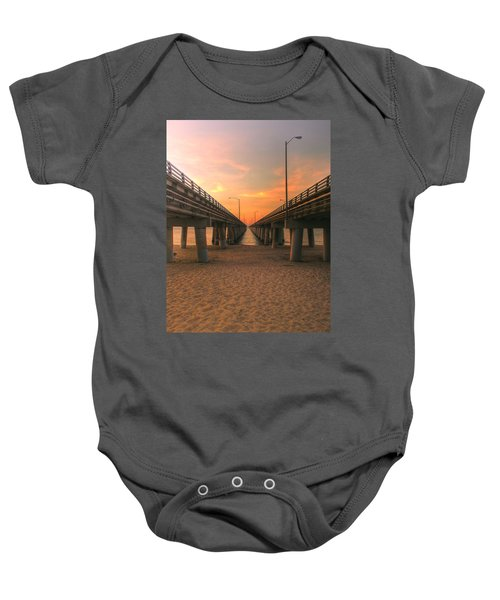 Chesapeake Bay Bridge IIi  Baby Onesie