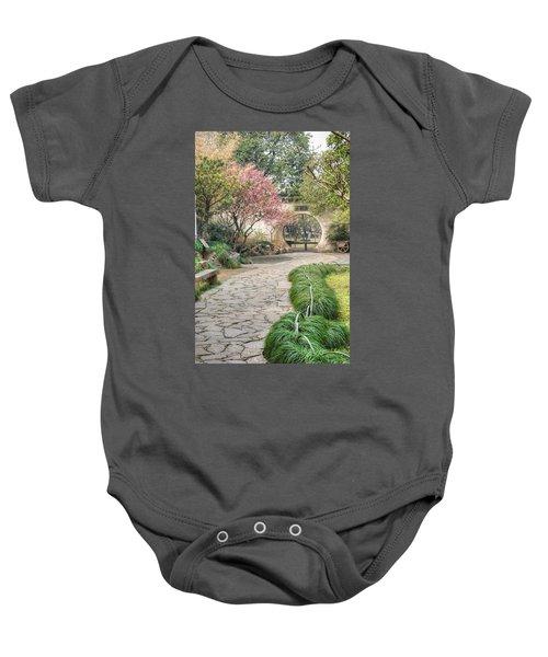 China Courtyard Baby Onesie