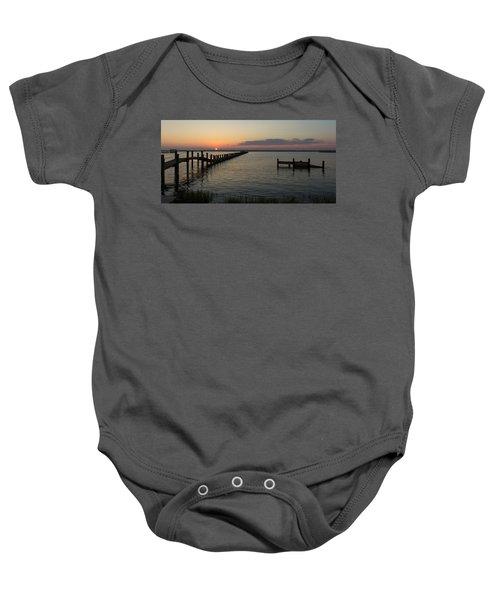 Chincoteague Island Sunset Baby Onesie