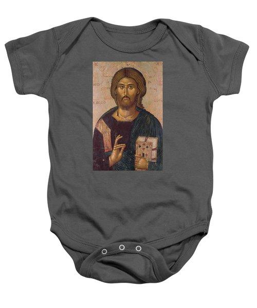 Christ The Redeemer Baby Onesie