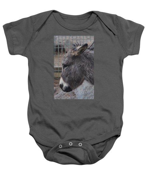 Christmas Donkey Baby Onesie