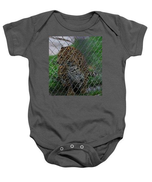 Christmas Leopard I Baby Onesie