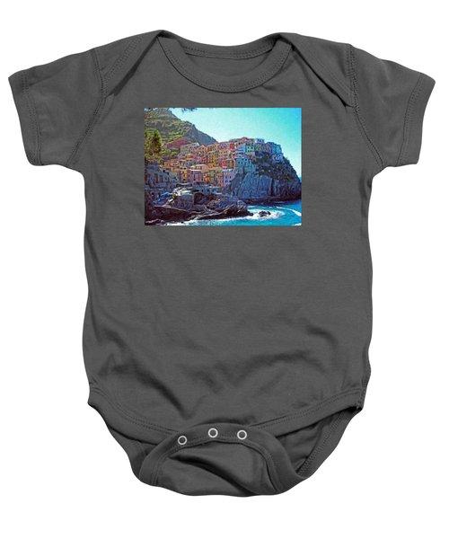Cinque Terre Itl2617 Baby Onesie