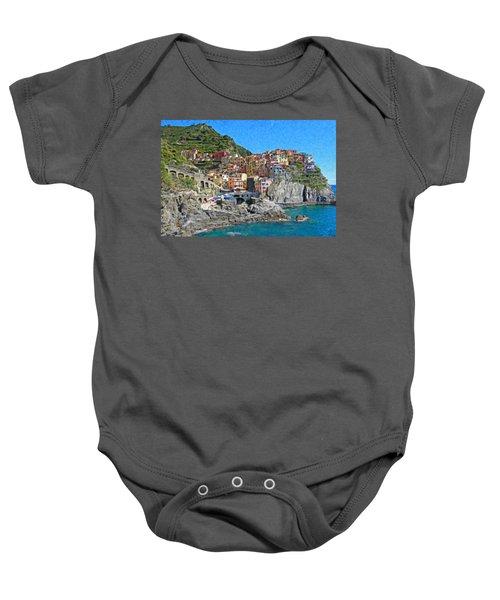 Cinque Terre Itl3403 Baby Onesie