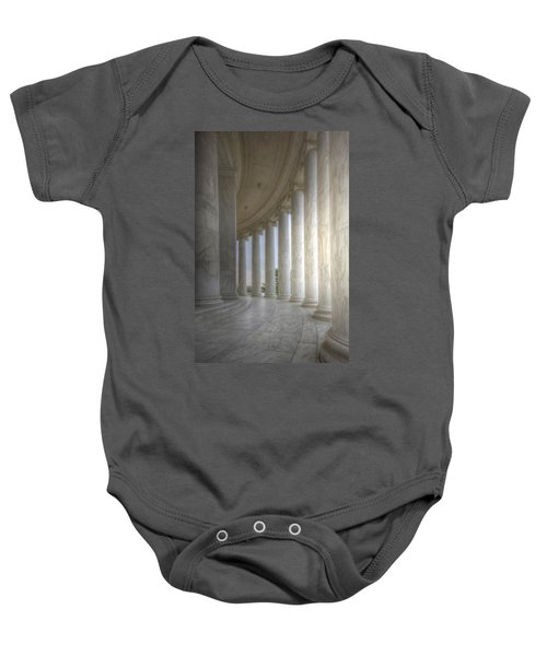 Circular Colonnade Of The Thomas Jefferson Memorial Baby Onesie