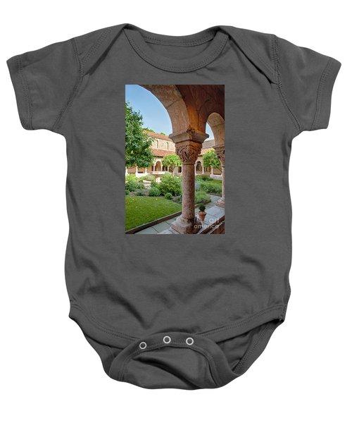 Cloisters Courtyard Baby Onesie