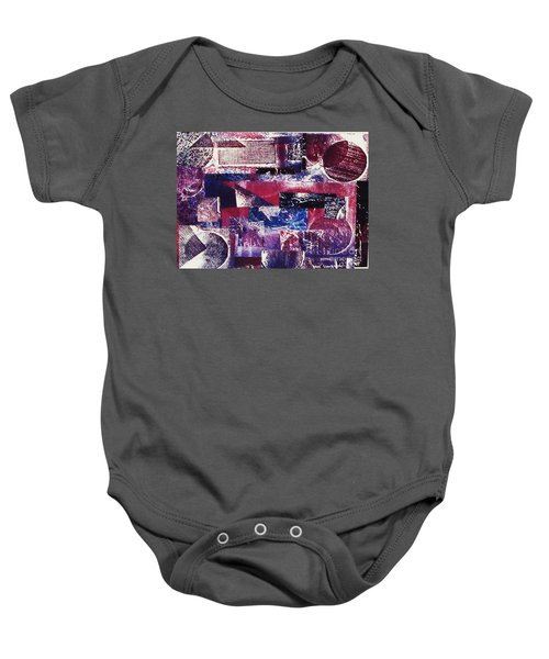 Collage Baby Onesie