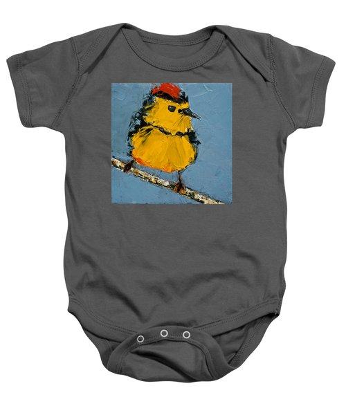 Collard Redstart Baby Onesie