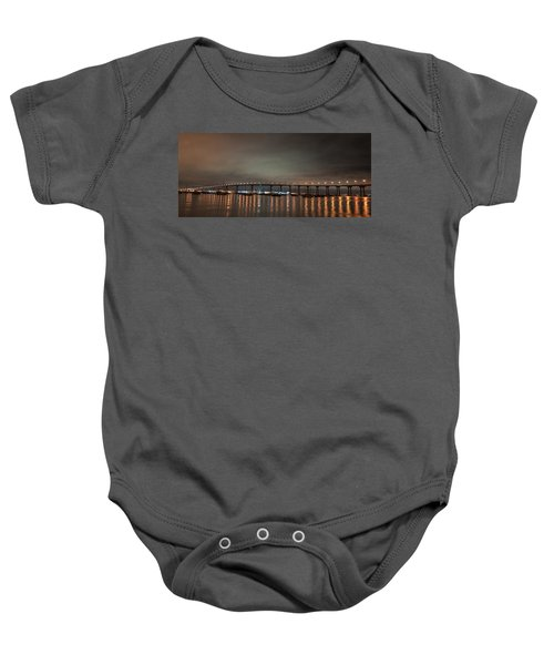 Coronado Bridge San Diego Baby Onesie