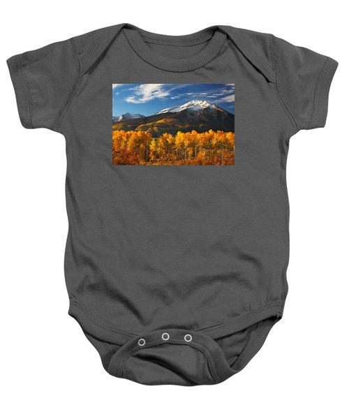 Colorado Gold Baby Onesie